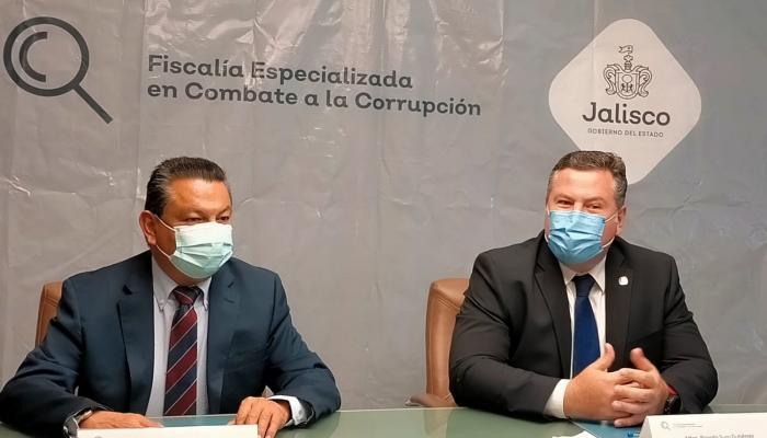 Con la finalidad de trabajar de manera coordinada durante el actual proceso electoral en Jalisco, la Fiscalía Especializada en Combate a la Corrupción, firmó un convenio de colaboración con la Fiscalía Especializada en Materia de Delitos Electorales.